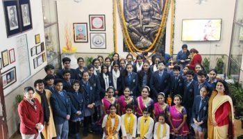Modern School celebrates Vasant Panchami 2020